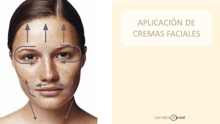 Como se aplican las cremas faciales