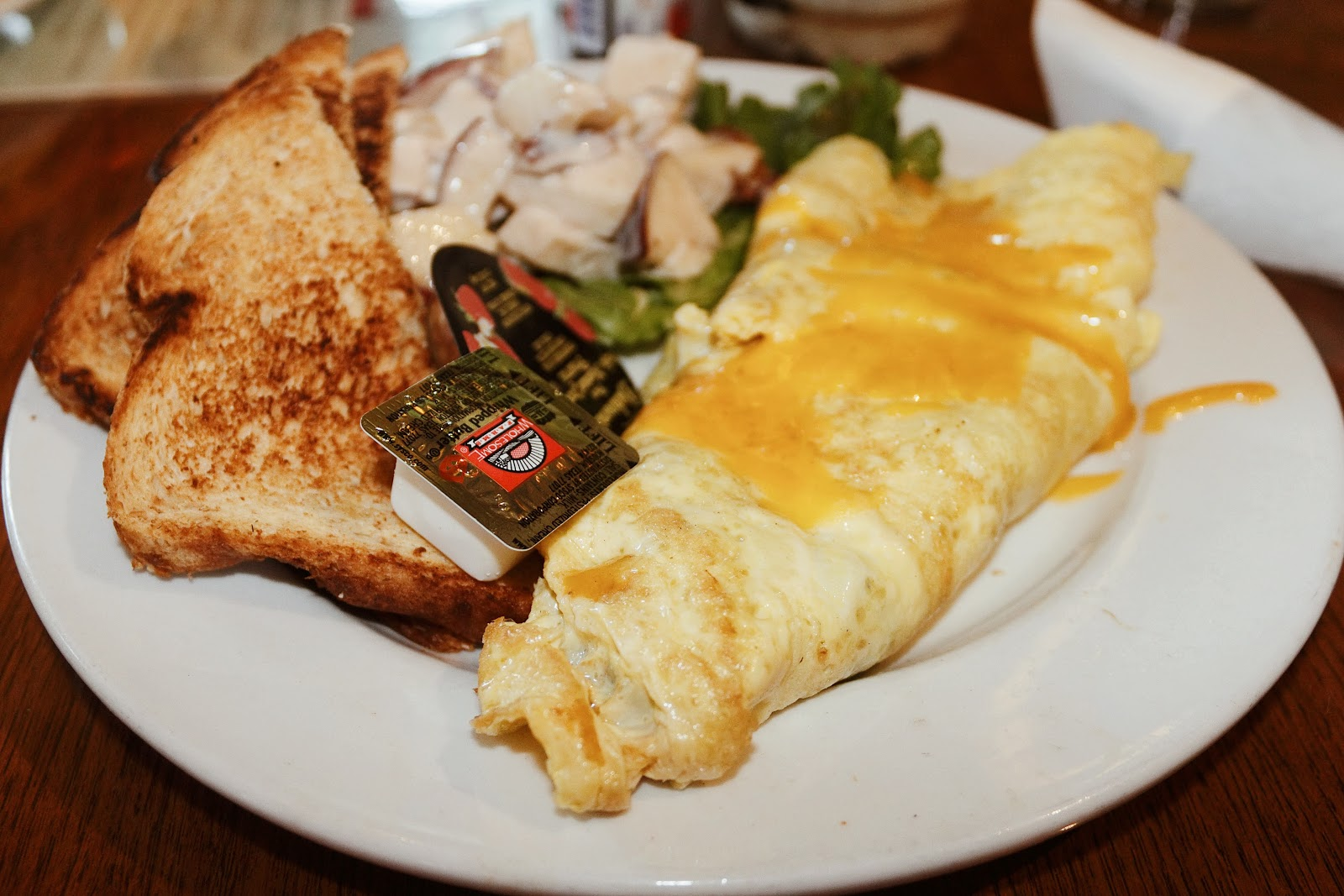 Galveston Travel Guide mosquito cafe omlette