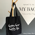 What's In My Bag? | Natural Hair Tag