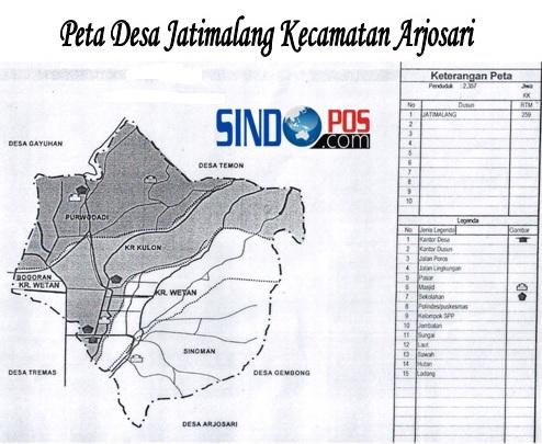 Profil Desa & Kelurahan, Desa Jatimalang Kecamatan Arjosari Kabupaten Pacitan