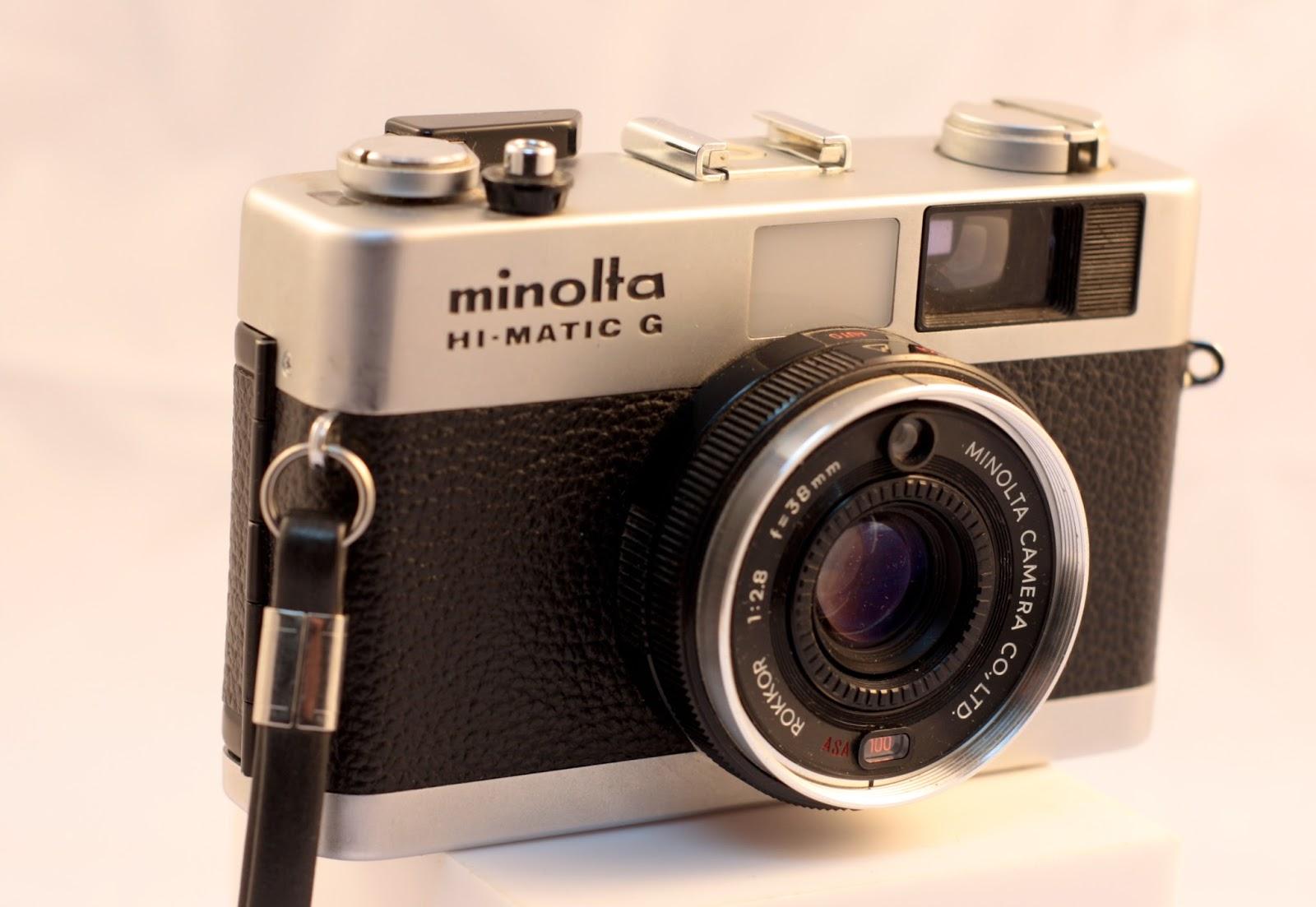 Random Camera Blog: The Minolta Hi-Matic G (Gee, it worked!)