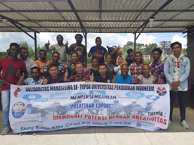 SOSIS UPI Menyelenggarakan Pelatihan Layout