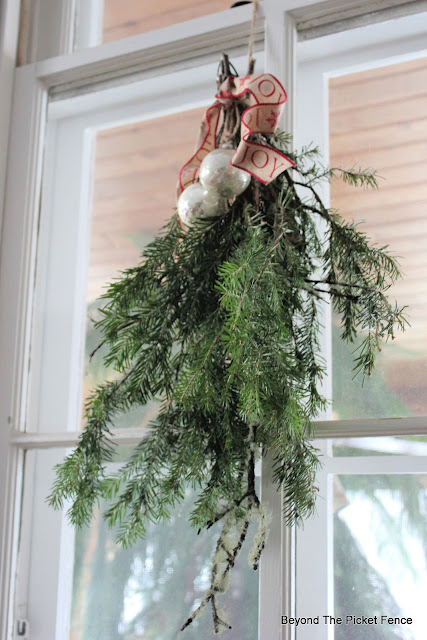 Easy DIY Swags for Christmas