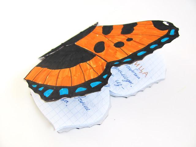 школьный проект о бабочке крапивнице