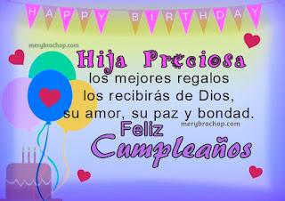 Feliz Cumpleaños Hija 9