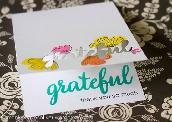 Grateful for You and Sketched Blooms stamp sets - Wendie #mftstamps