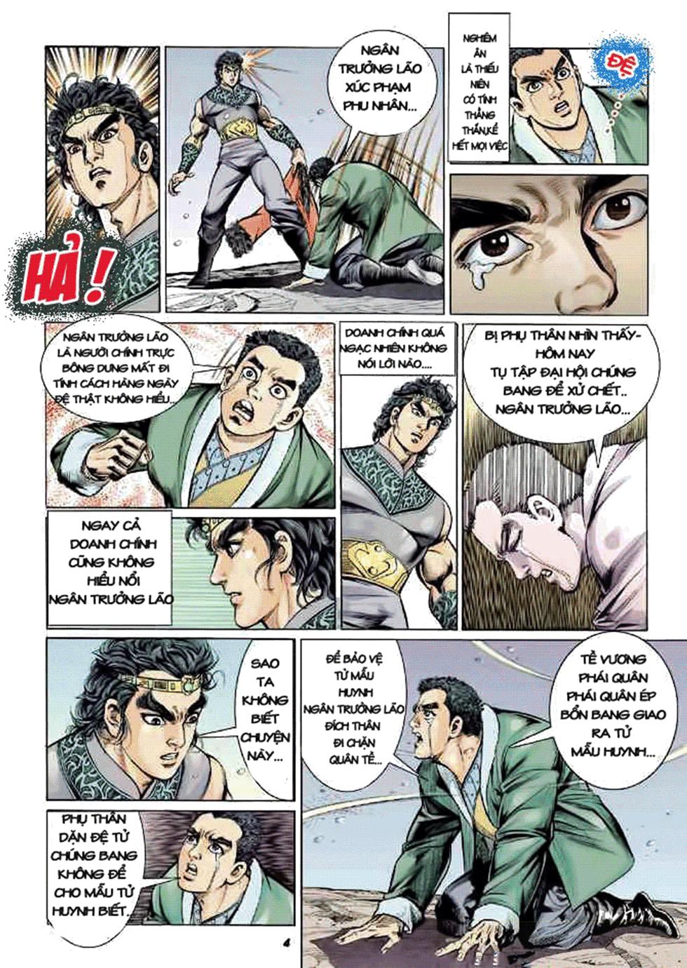 Tần Vương Doanh Chính chapter 8 trang 5