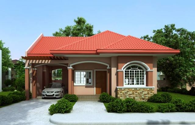 Desain Rumah Mungil Minimalis Modern