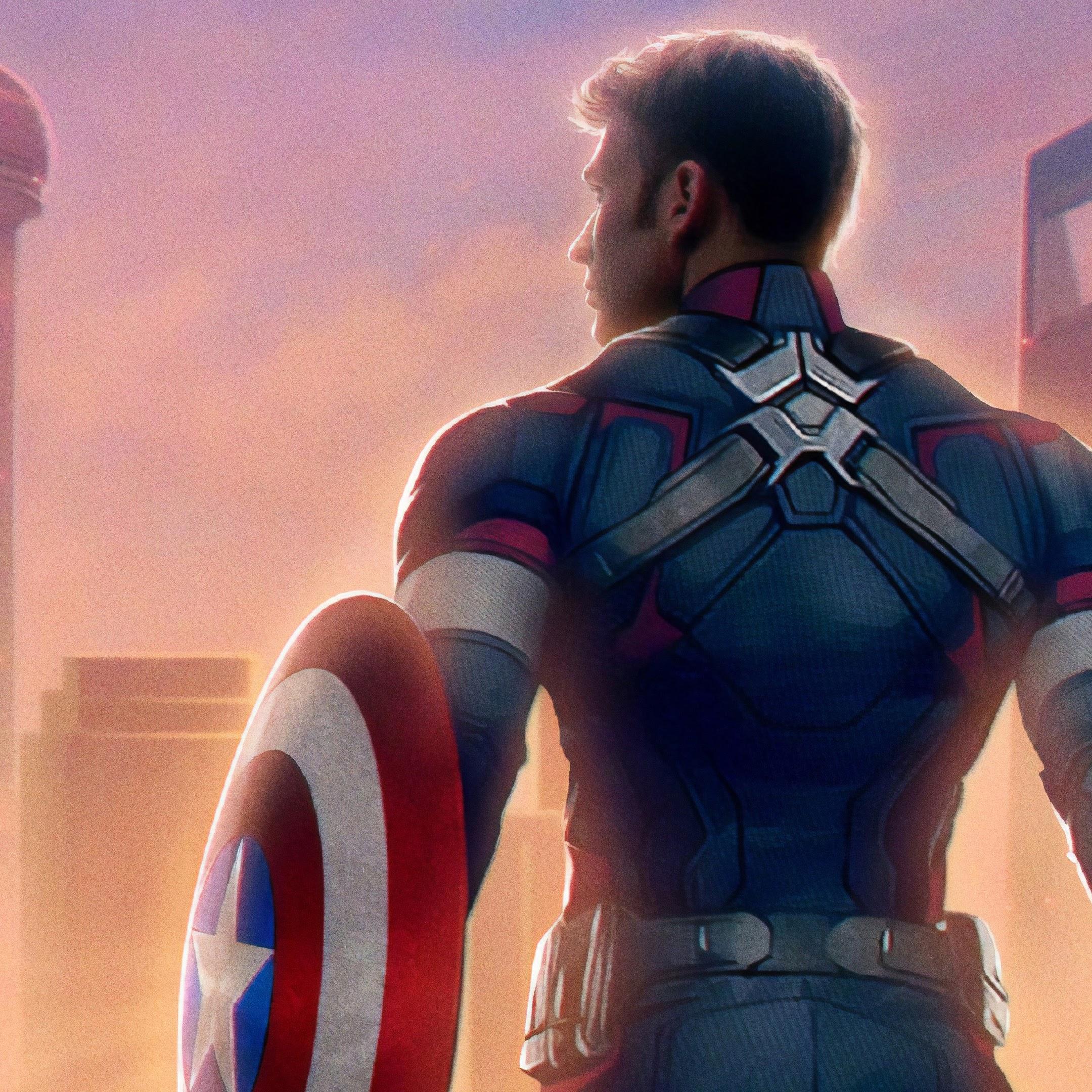 Avengers Endgame Captain 4k 54 Wallpaper