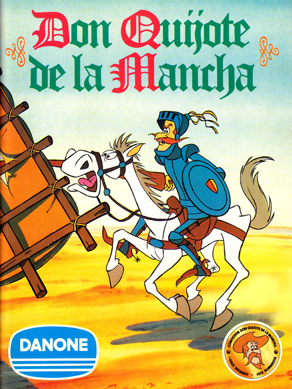 Album cromos Danone Don Quijote de la Mancha