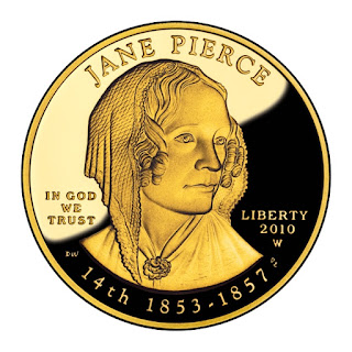 US Gold Coins Jane Pierce 2010 10 Dollars First Spouse Gold Coin