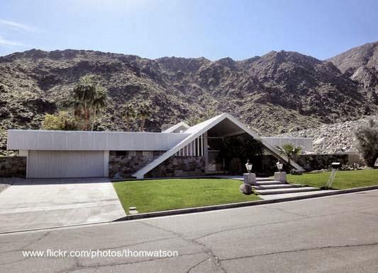 Residencia Mid Century en California, Estados Unidos