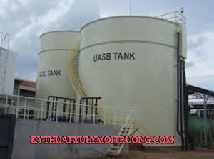 Bể Uasb xử lý nước thải công nghiệp