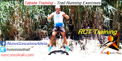 Exercícios de Trail Running - Tabata Training