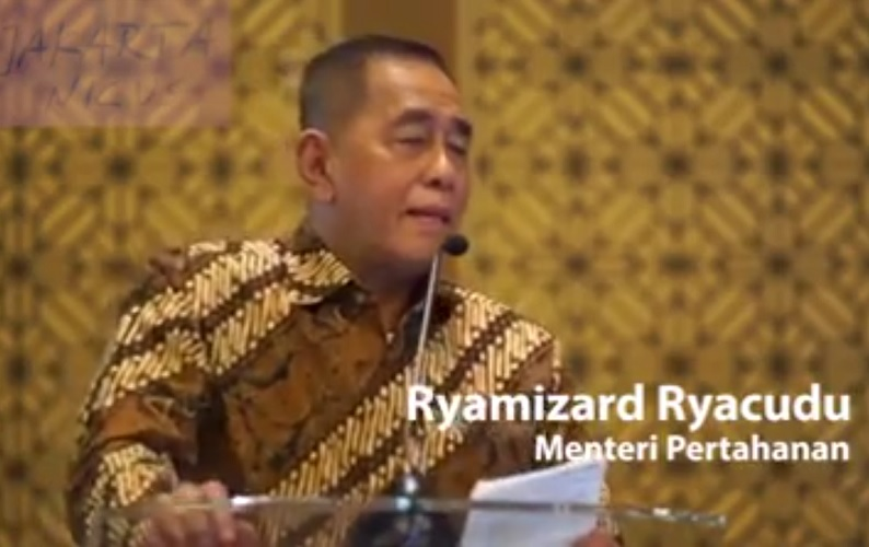 Menteri Pertahanan Ryamizard Ryacudu