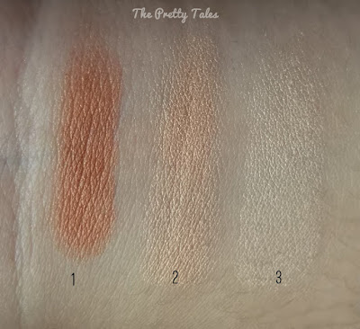 face on face nourishing eyeshadow natural glow blooming rose review swatch