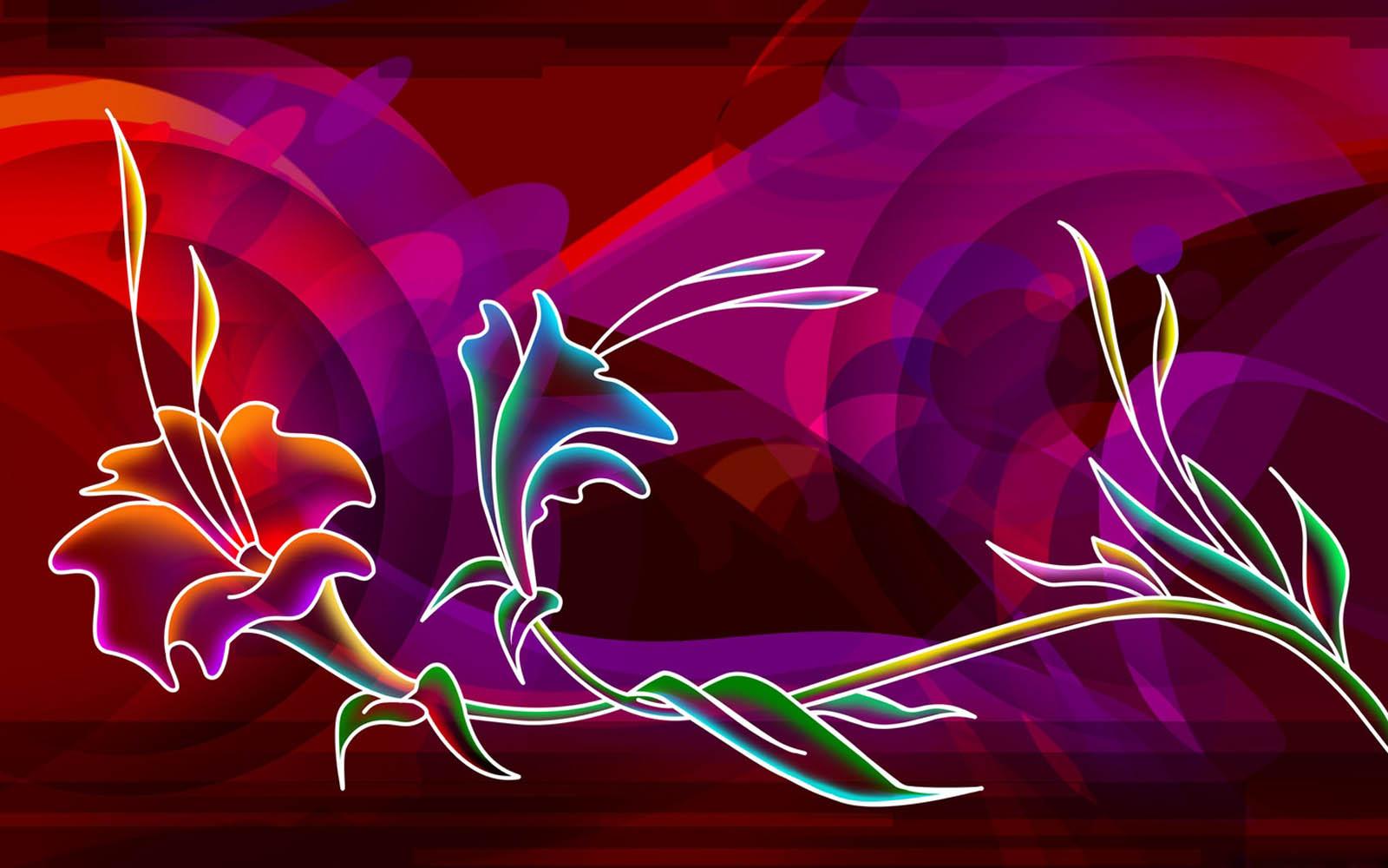 neon art wallpapers 01