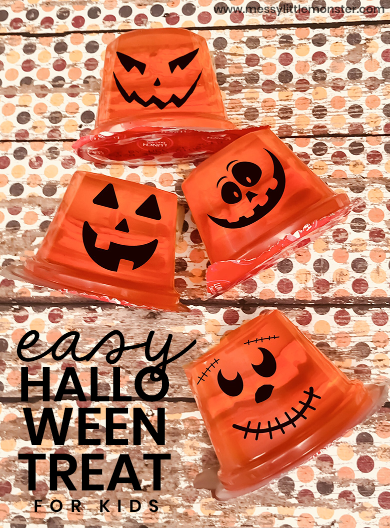 Halloween crafts for kids. Easy Halloween Snack and Pumpkin Craft for Kids.