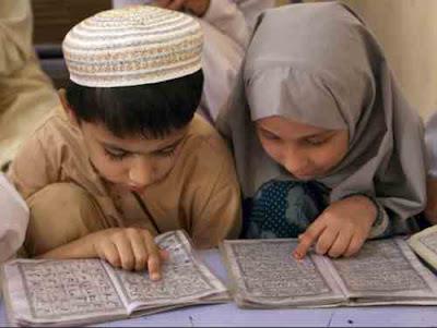 membuat anak muslim rajin mengaji