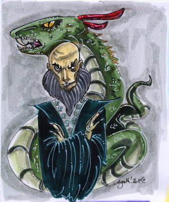 Херпо Нечистия, един от първите черни магьосници