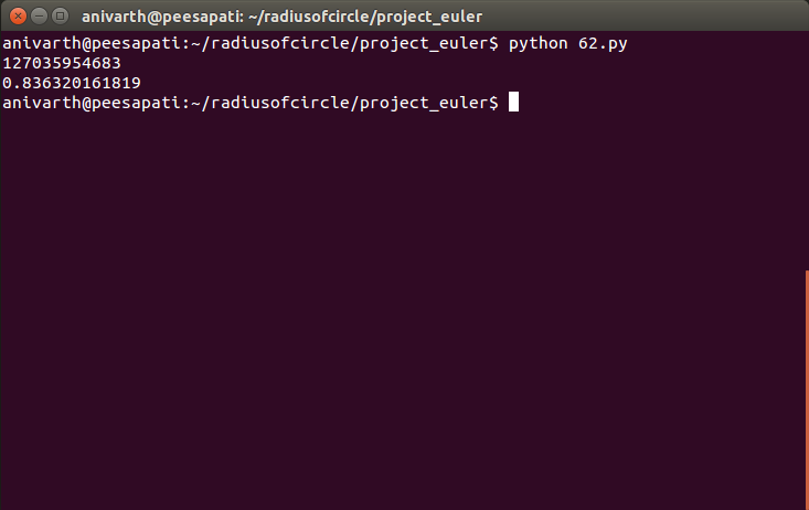 Project Euler Problem 62 solution with python