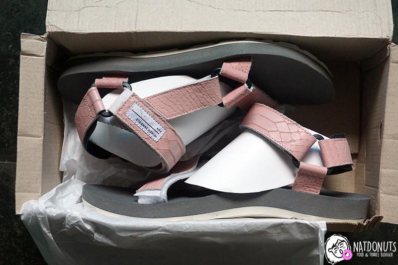 N Journal Hijack Sandals Kato Leather Printed Series