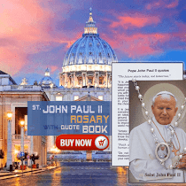 [Image: st-paul-ii-rosary-with-quote-book.png]