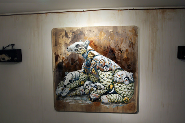 """Coverage Of Pixel Pancho """"The Garden Of Eden"""" New Solo Show In Turin, Italy 14"""