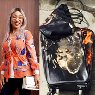 Tonto Dikeh apologizes to former personal shopper whose bags she burnt publicly years ago