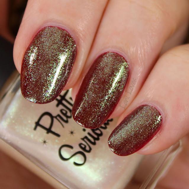 Pretty Serious Mojito nail polish swatches & review