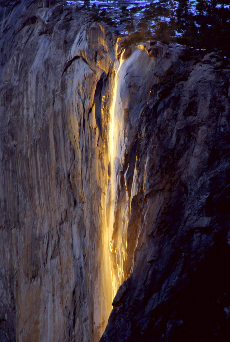 Yosemite Lava Falls Wallpaper Horsetail Falls Yosemite National Park California 2013