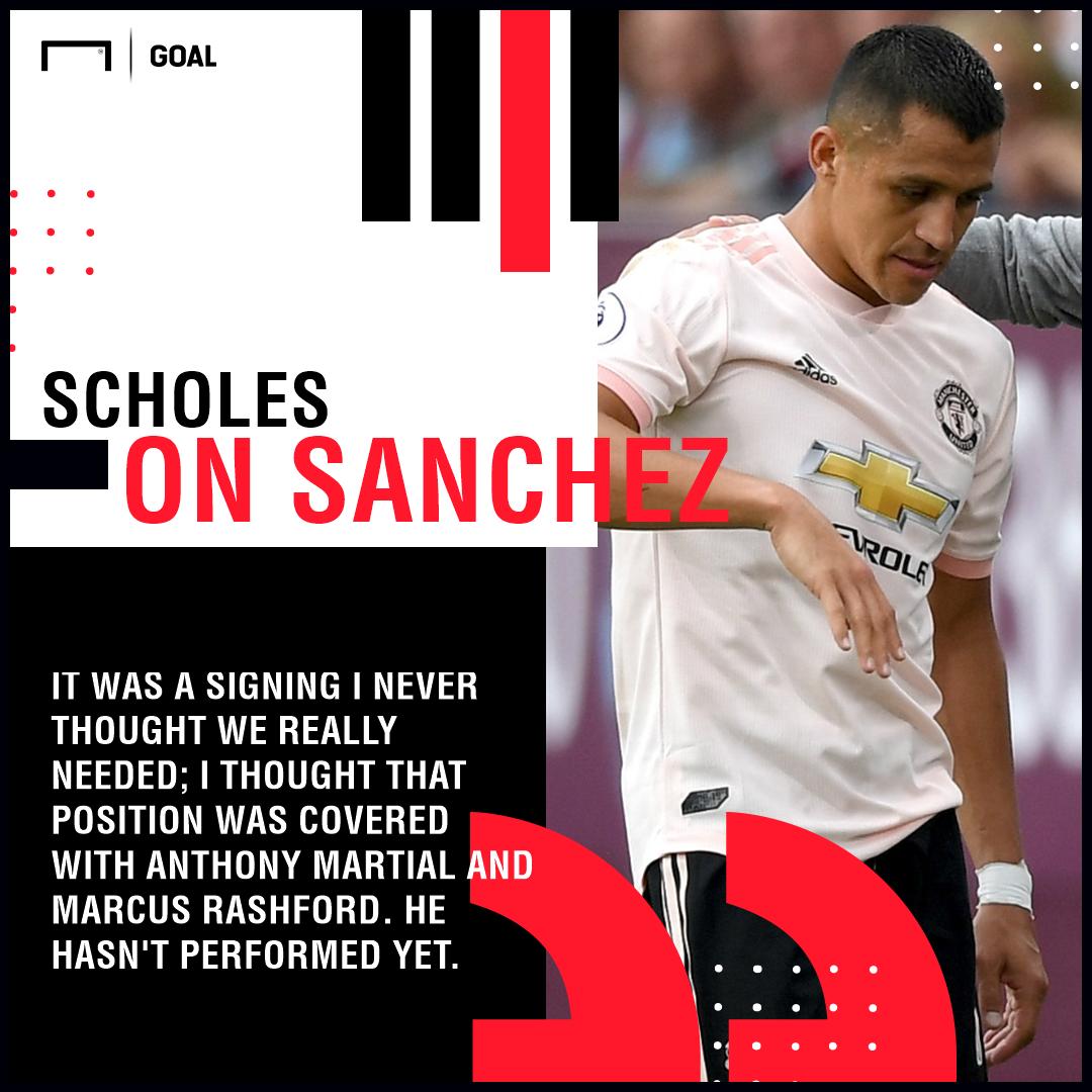 0d3f700e989 Club legend Paul Scholes argued recently that Sanchez was a luxury signing