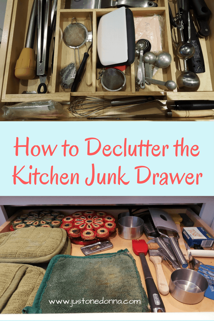 How To Declutter Your Kitchen Junk Drawer