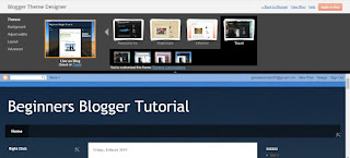 Beginners Blogger Tutorial