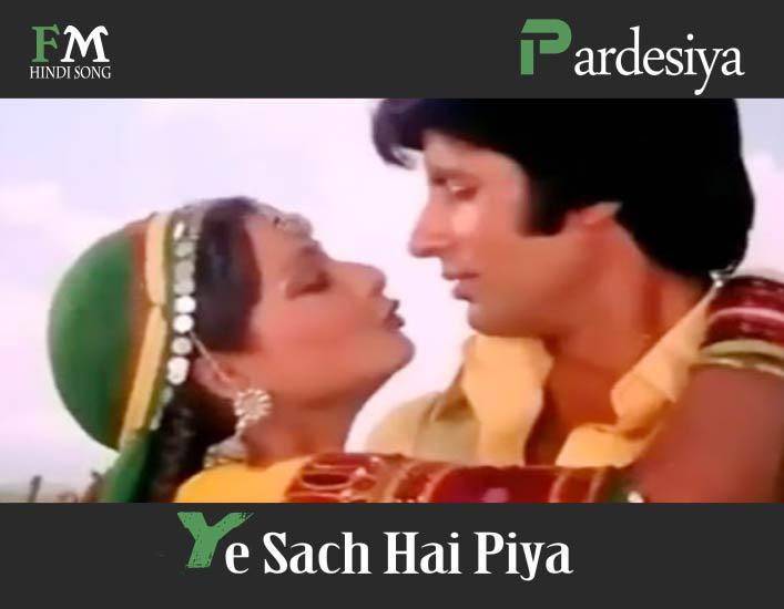 Pardesiya-Ye-Sach-Hai-Piya-Mr-Natwarlal-1979