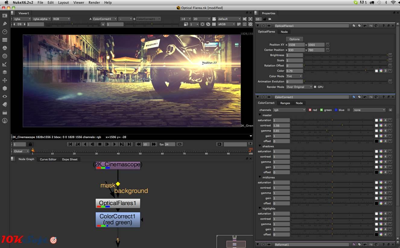 The Foundry NUKE Studio 10 Offline Installer Setup Download