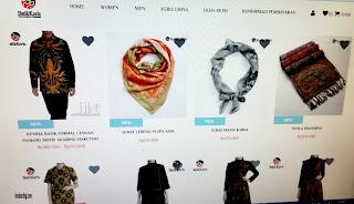 Produk Batik Keris online - 1