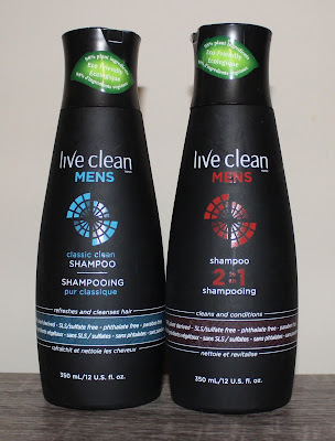 Live Clean Men's Shampoo