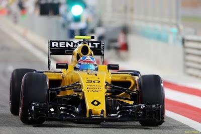 Renault F1's car