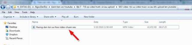 Cách tối ưu hóa video youtube chuẩn Seo