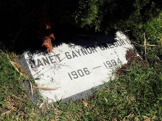 Hollywood Forever Cemetery Janet Gaynor