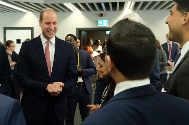 Książę William na Commonwealth Business Forum + Audiencje w Pałacu Buckingham