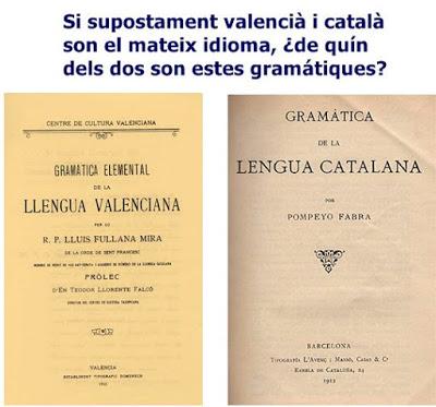 valencià, català, gramátiques, Pompeyo, Fullana