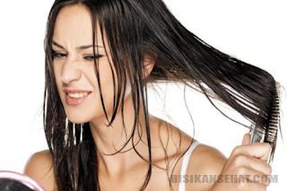 Tips Cara Mengatasi Rambut Berminyak Secara Alami