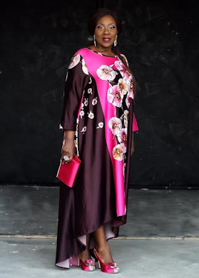Joke Silva glows in pink and purple on Project Fame this weekend (see photos)