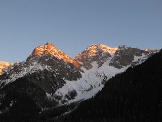 Wildgall und Hochgall in der Morgensonne
