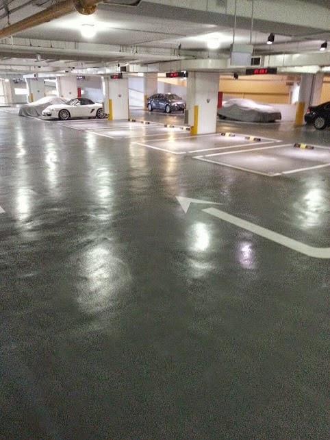 Epoxy coating and Waterproofing services Singapore. : Car