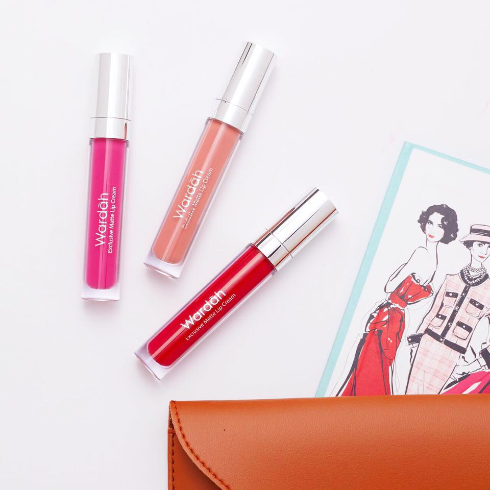Wardah Exclusive Matte Lip Cream Solusi Tepat Untuk Perona Moeslema Source 3bpblogspotcom