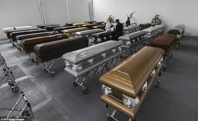 caskets brazilian football players
