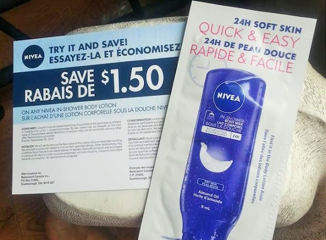 Free Nivea Sample from Topbox Circle